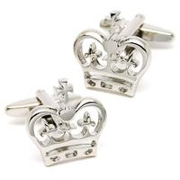 Cool Royal Crown Design Cufflinks