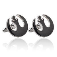 Star Wars Rebel Alliance Black Cufflinks