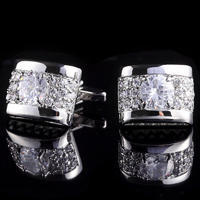 Luxury Zircon Cufflinks