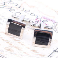 Stylish Black Cufflinks
