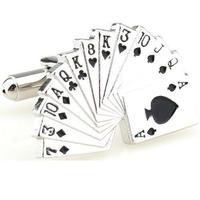 Fan of Cards Cufflinks
