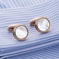 Cufflinks natural pearl