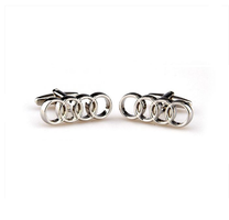 Cufflinks of Audi car