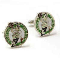 Boston Celtics NBA Cufflinks