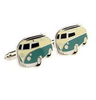 VW Retro Bus Cufflinks