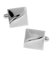 Shiny Stylish Business Cufflinks