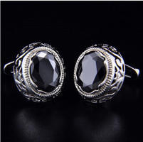 Dragon Eye Circular Ornament Cufflinks