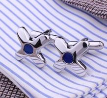 Blue Hole Star Cufflinks