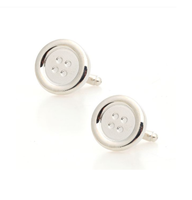 Steel Stud Cufflinks