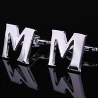 Initial M+B Letter Cufflinks