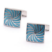 Sea Wave Cufflinks