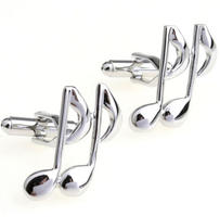Music Notes Cufflinks