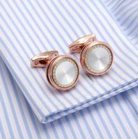 Cufflinks natural pearl