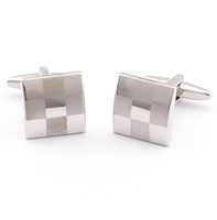 Cufflinks chessboard mosaic cufflinks