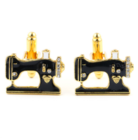 Cufflinks sewing machine