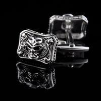 Mystical Skull Rectangle Cufflinks