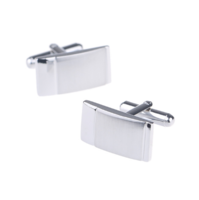 Rectangular Metal Matte Cufflinks