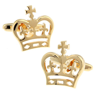 Royal Crown Design Cufflinks