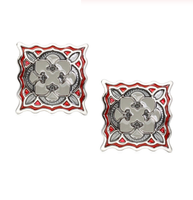 Cufflinks Abstract flower