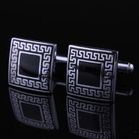 Ancient Greek Pattern Cufflinks