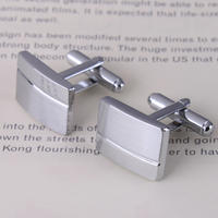 Shiny Rectangular Cufflinks