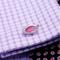 Vintage pink cufflinks - 1/2