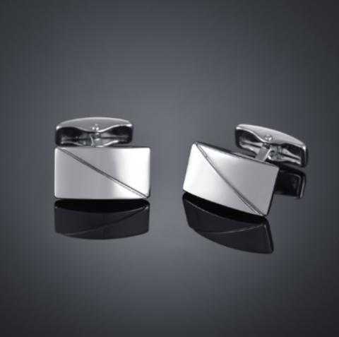 Cufflinks Silver shield
