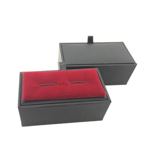 Black Premium Single Cufflink Box - 1