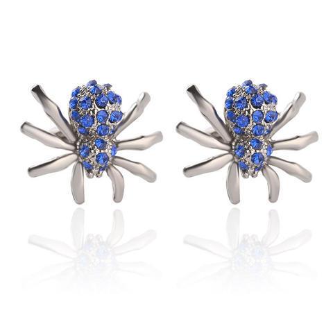 Blue Spider Cufflinks - 1
