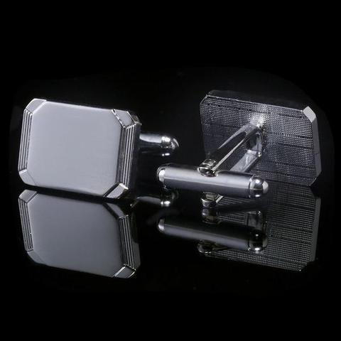 Steel Brick Cufflinks