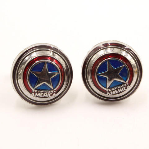 Captain America Superhero Cufflinks - 1