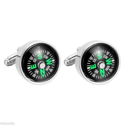 Compass Cufflinks - 1