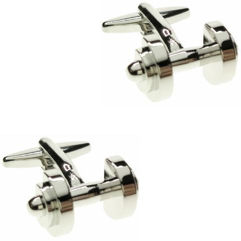 Cufflinks for weightlifting