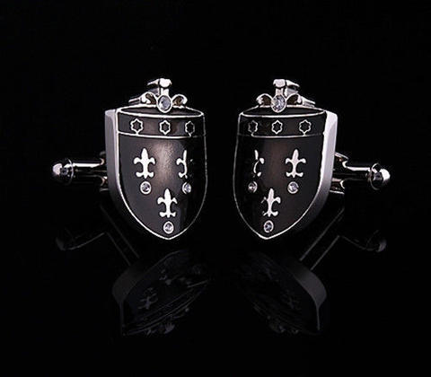 Medieval Shield Cufflinks - 1