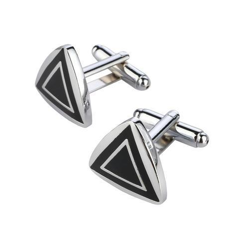 Cufflinks fashion triangle