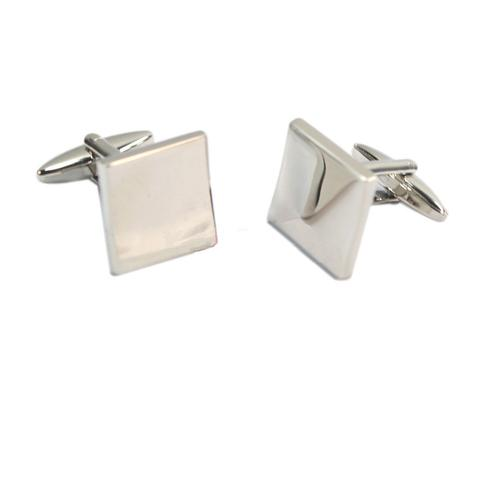 Engraved Square Cufflinks - 1