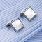 Cufflinks Pearl Squares - 1/2