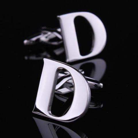 Initial D Letter Cufflinks
