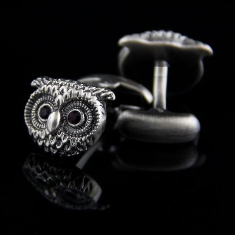 Owl Head cufflinks