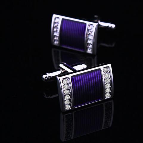 Violet Pool Cufflinks - 1
