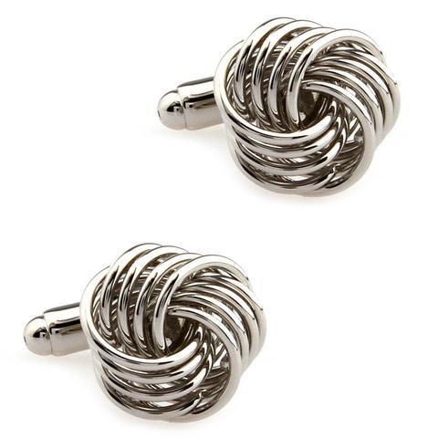 Cufflinks four-point knot