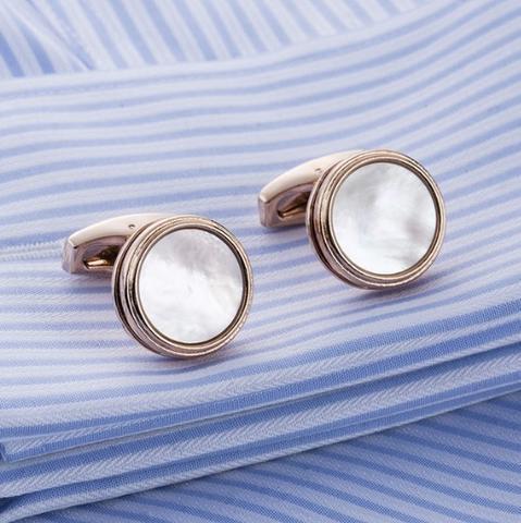 Cufflinks natural pearl - 1