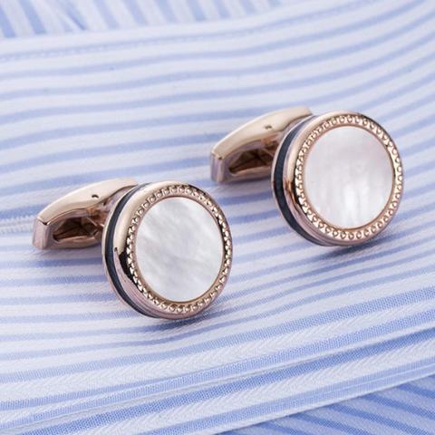 Cufflinks pearl black - 1