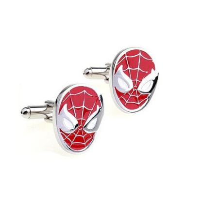 Spiderman Red Mask Cufflinks