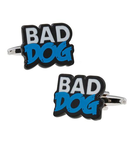 "Cufflinks bad dog ""Bad dog"""