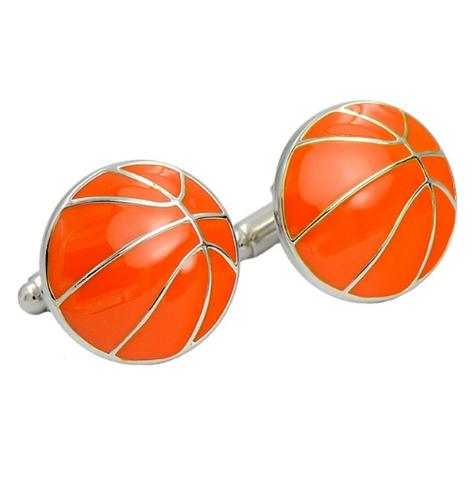 Cufflinks Basketball ball