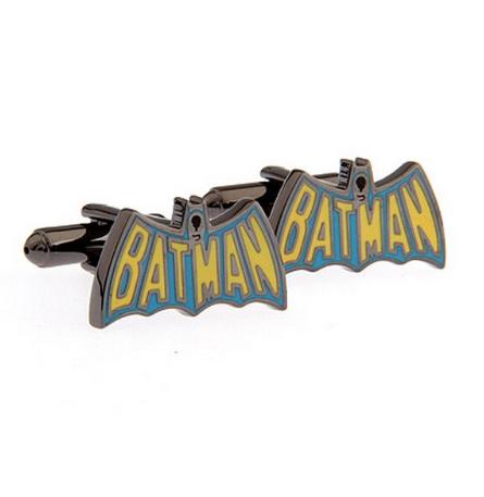 Cufflinks Batman color logo - 1