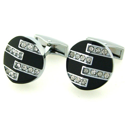 Rounded Stepledder Cufflinks - 1