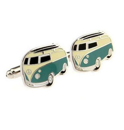 VW Retro Bus Cufflinks