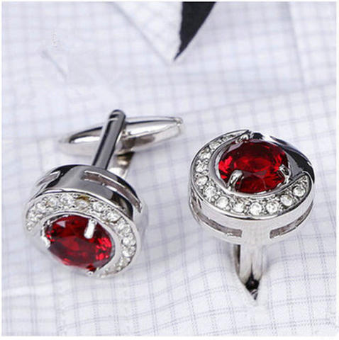 Luxury Ruby Joy Cufflinks